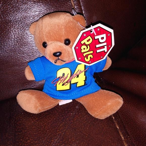 """Jeff Gordon 5"""" bean bag bear"""